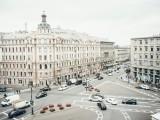Вид из окна на площадь Льва Толстого
