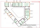 Планировка рабочих мест 2-го этажа коворкинга