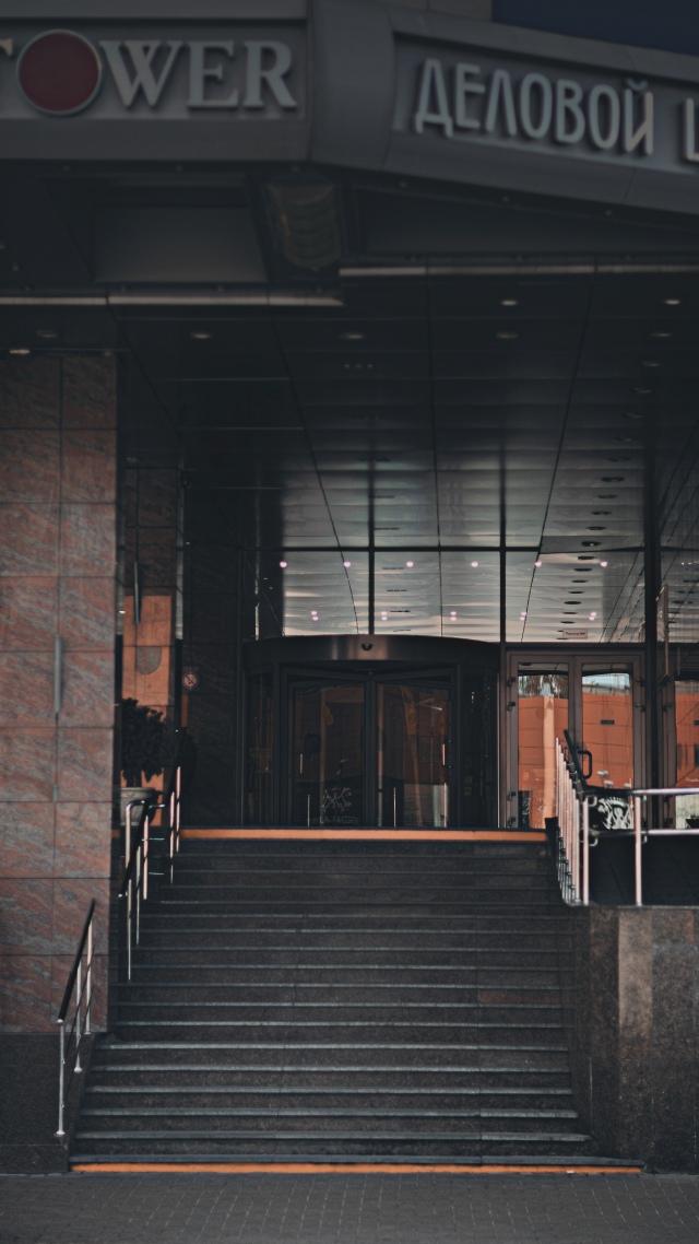 Вход в деловой центр