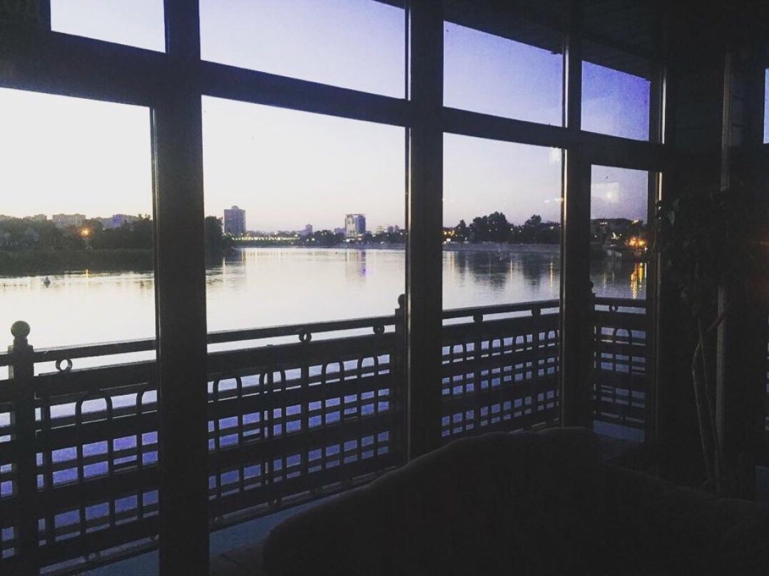 Вид из офиса