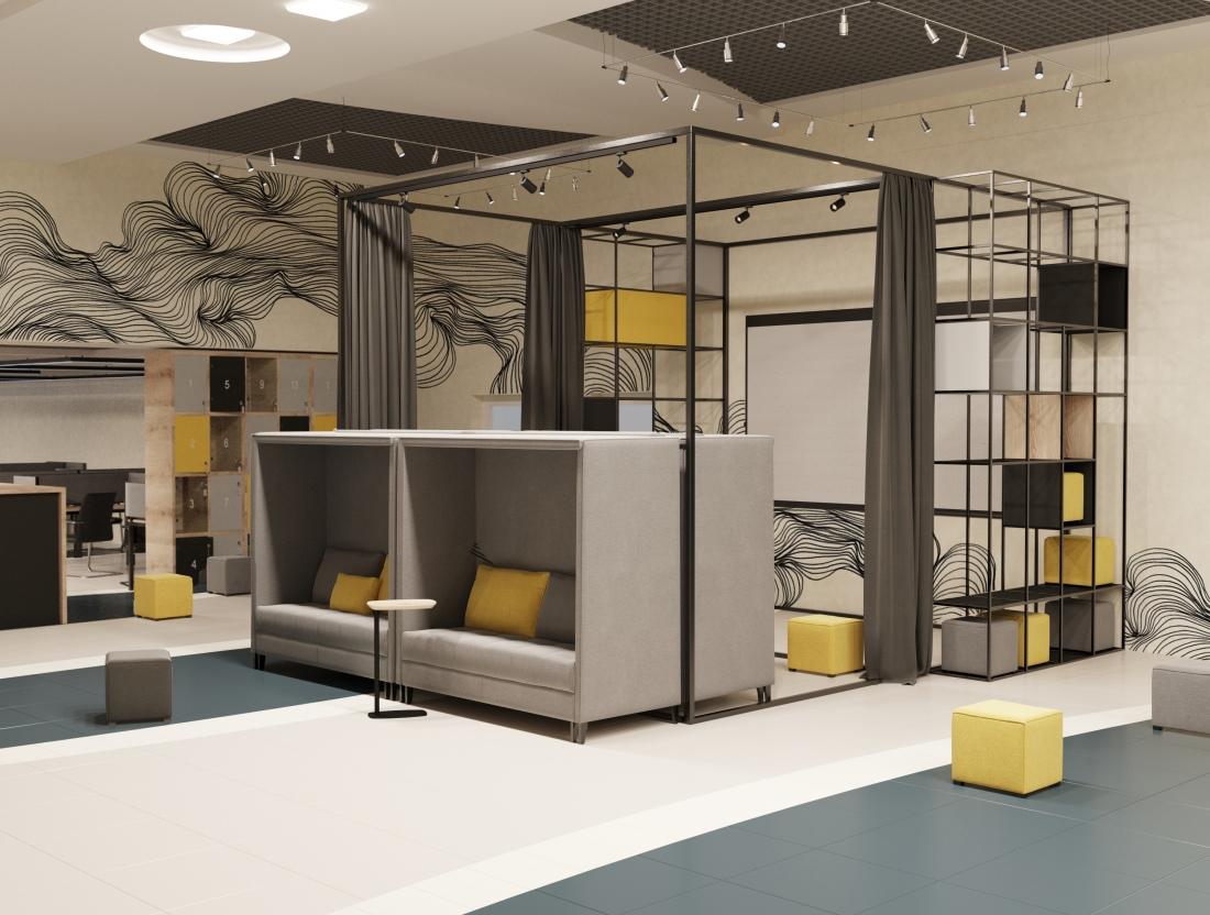 Co-working IT WorkSpace